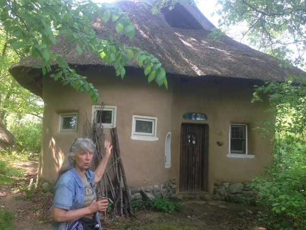 Strawbale Studio, made entirely of natural materials